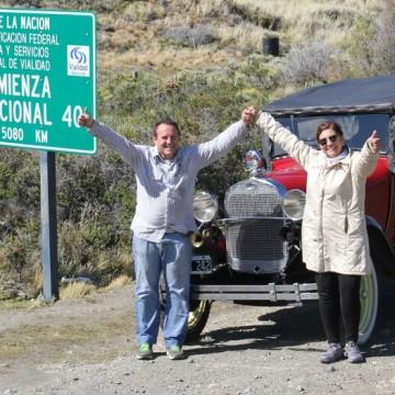 Ford A Tucumán Travesía Ruta 40 paisajes Turismo