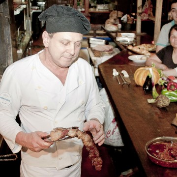 Carlos Lopez, asado, parrilla, libro ganador