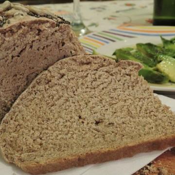 pan casero, semillas, cocina saludable