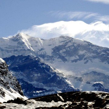 Aconcagua, mendoza, turismo, nieve, montaña