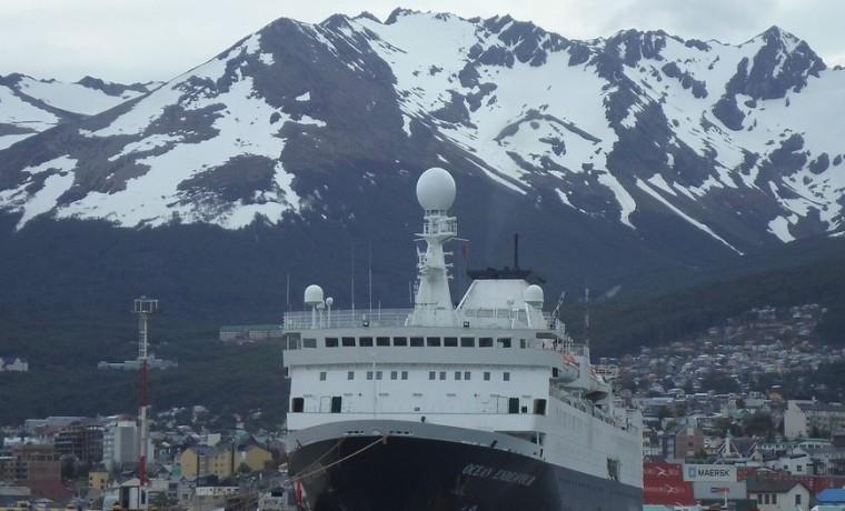 Crucero Ushuaia Montaña nieve