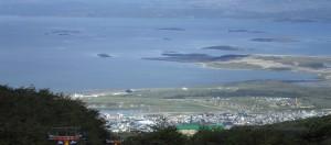 Visa aérea Ushuaia paisaje