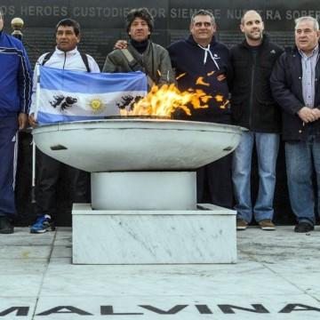 Malvinas veteranos Ushuaia-La Quiaca travesía