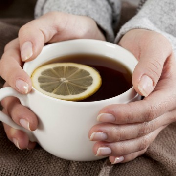 manos té