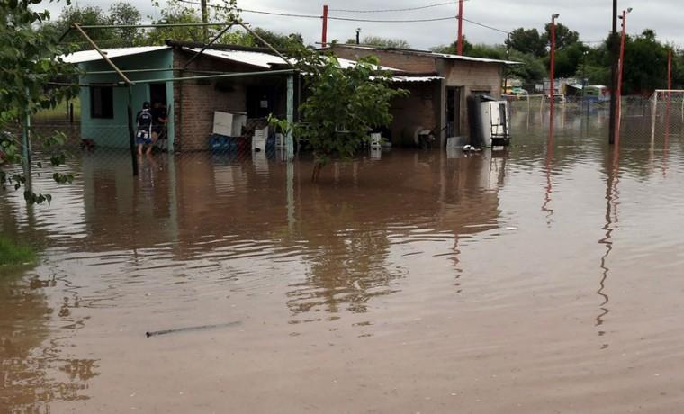 Litoral, inundación, evacuados, emergencia