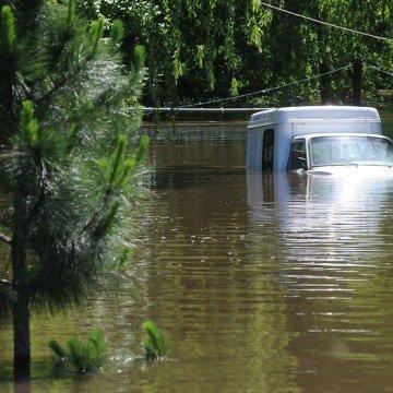litoral, inundación, evacuados