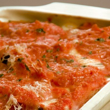 lasagna, receta, Blanca Emilia