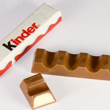 kinder, cáncer, chocolate