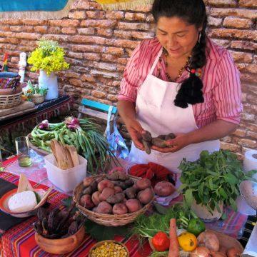 Sacha Sawila, Pulpería Quilapán, cocina