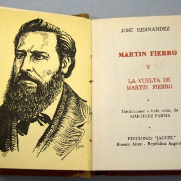 José Hernández, Martín Fierro, tradición, libros