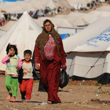 San Luis, refugiados, guerra