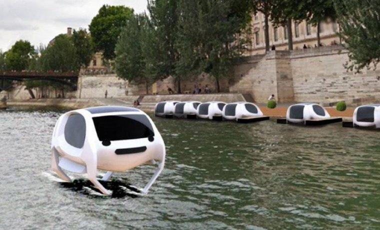 Sea Bubble, París, invento