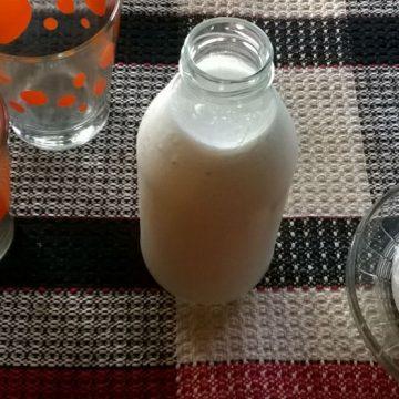 agua de coco, manteca, coco, salud