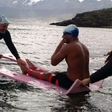 Tierra del Fuego, Canal Beagle, deportes, natación
