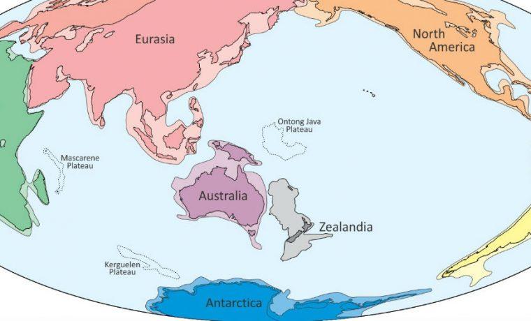 Zealandia, continente, ciencia, descubrimiento