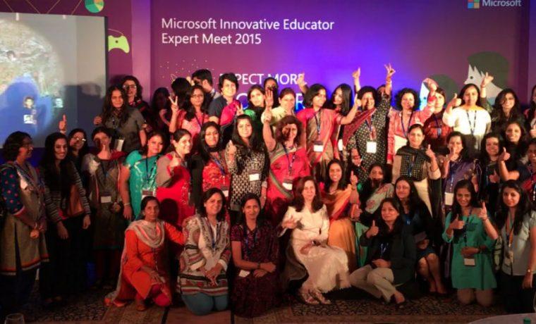Microsoft, maestras, educación, premio