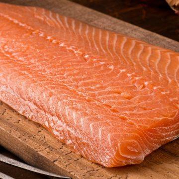 salmón rosado, pescado, salud, contaminación