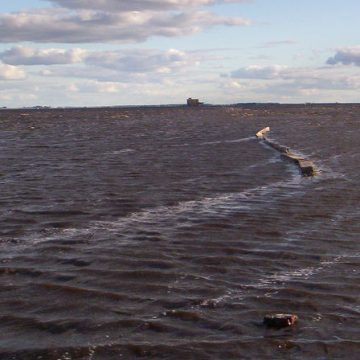laguna Melincué, Santa Fé, inundación