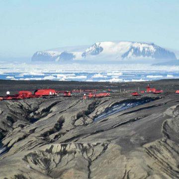base Marambio, parque eólico, Antártida, ecología