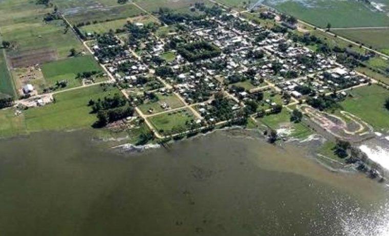 Villegas, inundación, evacuados