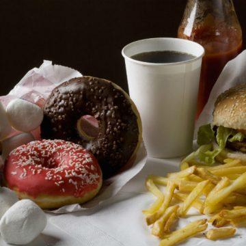 comida chatarra, nutrición, niños, salud