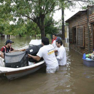 Corrientes, inundación, evacuados