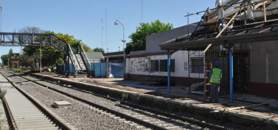 El inicio de la obra de remodelación en San Nicolás