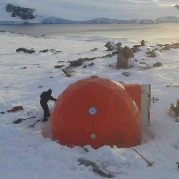 refugio, Antártida, invento, ecología