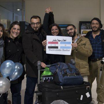 sirio, Bariloche, refugiado