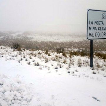 Córdoba, Altas Cumbres, nieve
