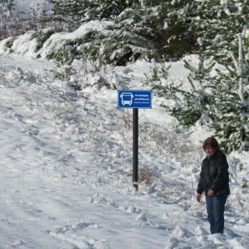 Bariloche, clima, frío