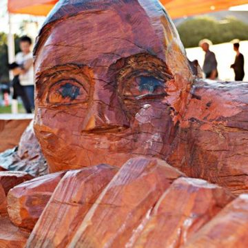 Entre Ríos, esculturas, Nogoyá, arte