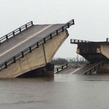 Corrientes, puente, Goya, inundación