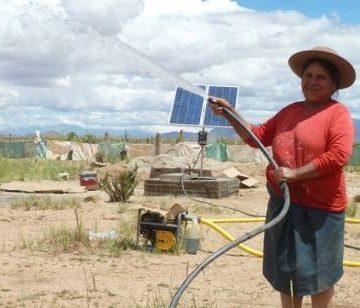 energía solar, agua, ecología
