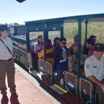 Nueva locomotora eléctrica en el Parque Nacional Iguazú