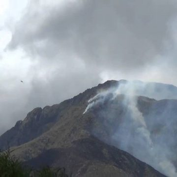 Córdoba, incendio, cerro Uritorco