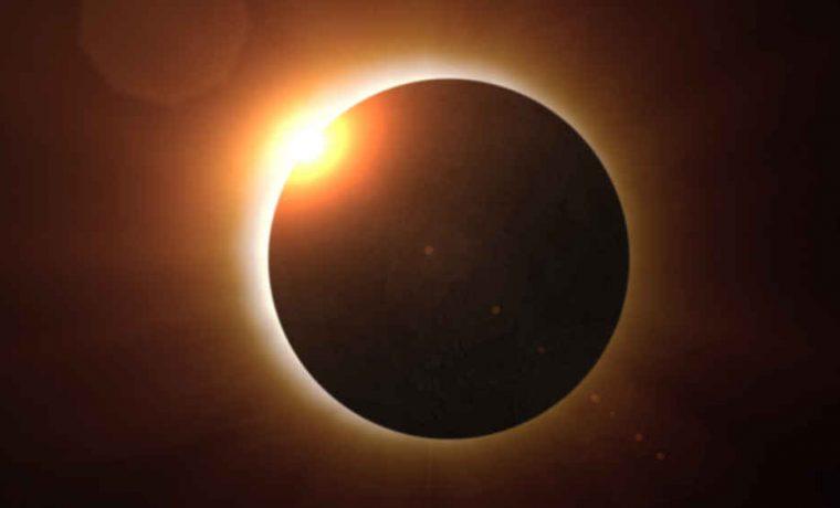eclipse de sol total, ciencia, astronomía