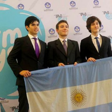 Mundial de Física, Lucas Díaz, ciencia, concurso