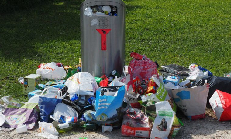 basura, invento robot. UNLP, alumnos