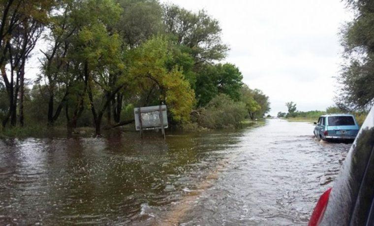 Rancul, La Pampa, inundación, clima