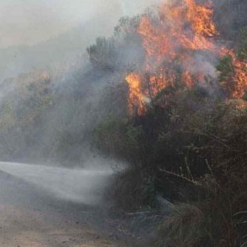 Cosquín, incendio, evacuados, Córdoba