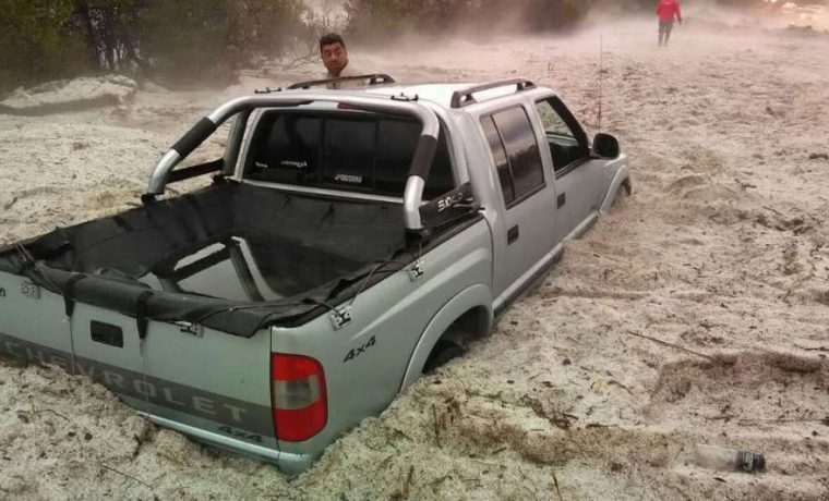 granizo, clima, inundación, Córdoba,