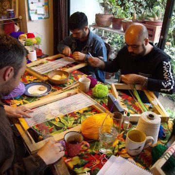 hombres tejedores, agenda, cultura