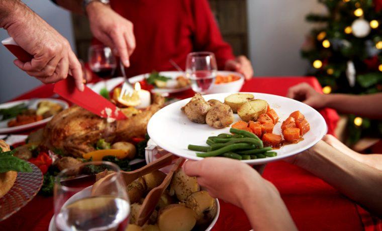 navidad, alimento, dieta, salud