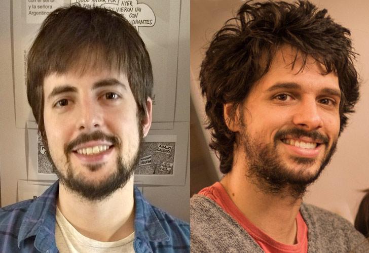Los ganadores Facundo Carrillo y Sergio Romano