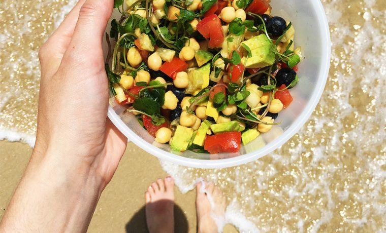 vacaciones, salud, alimentos