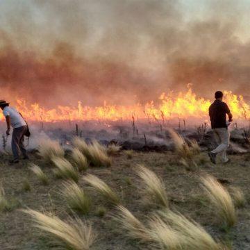 Sierra de la Ventana, incendio, fuego