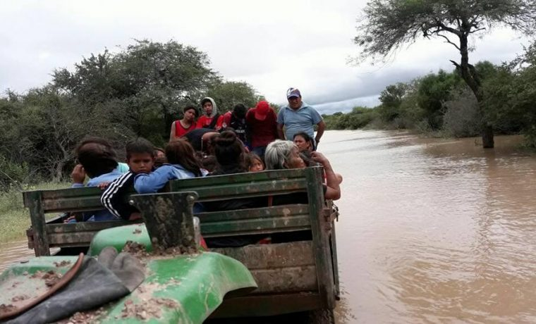 Salta, inundaciones, clima, evacuados