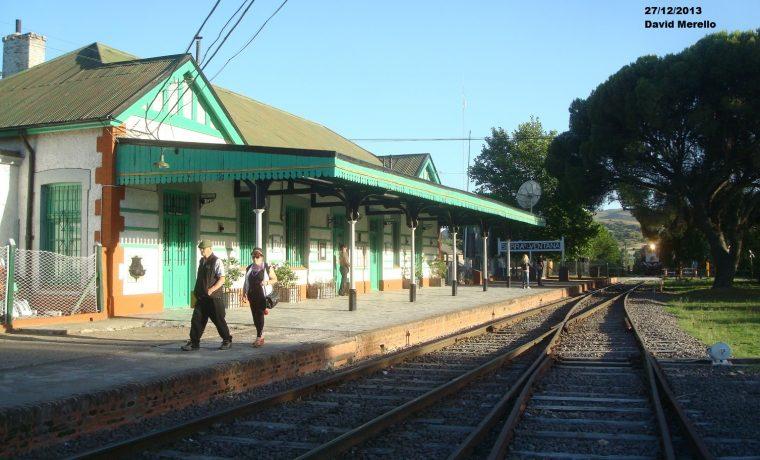 Sierra de la Ventana, tren, cultura, estación