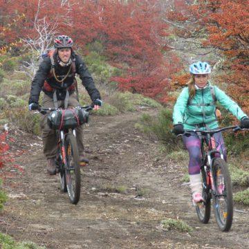 villa pehuenia bicileta patagonia